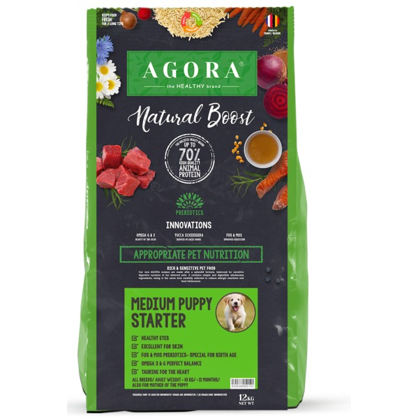 agora medium puppy starter